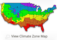 DOE Climate Zone map