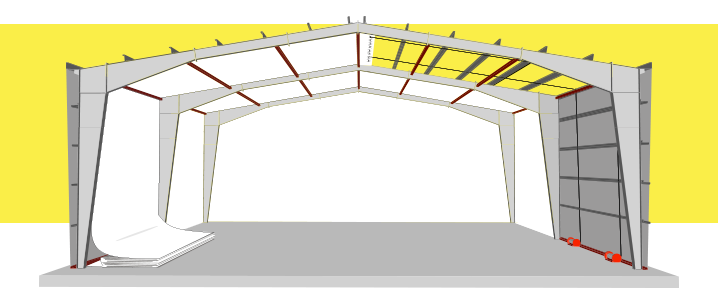 AutoCeil Ceiling and Wall Insulation System Graphic