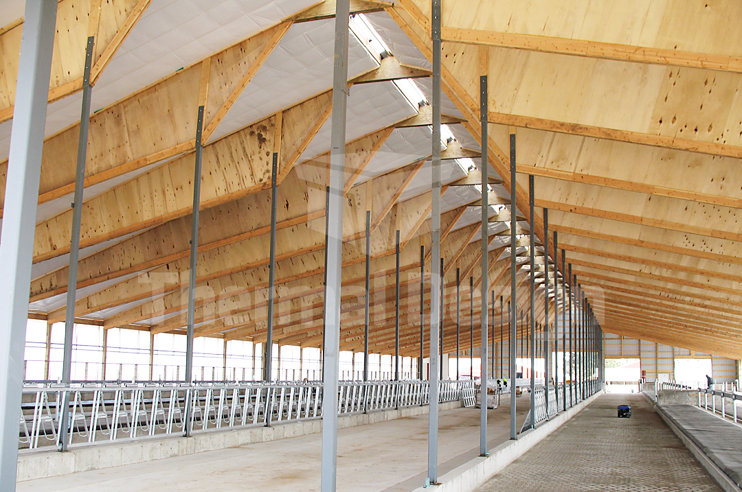 Thermal design inc steel building insulation systems for Post frame building plans