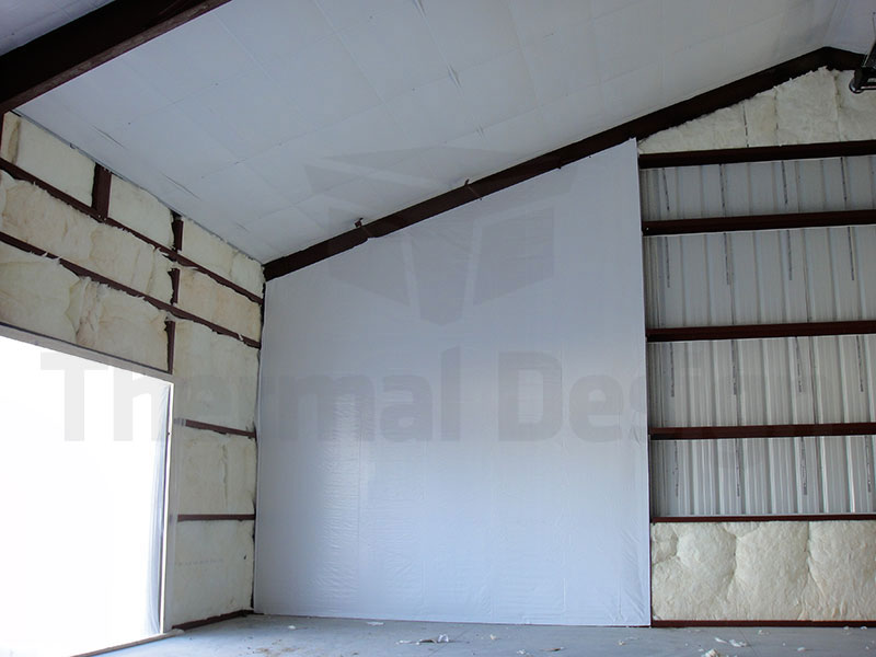 Metal Building Insulation Panels : Thermal design inc steel building insulation systems