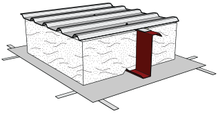Simple Saver System with one layer of fiber glass insulation
