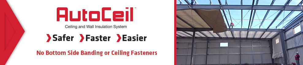 AutoCeil Ceiling and Wall Insulation System